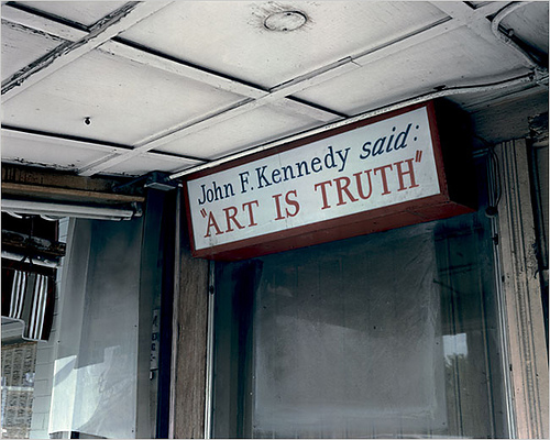 Art is truth