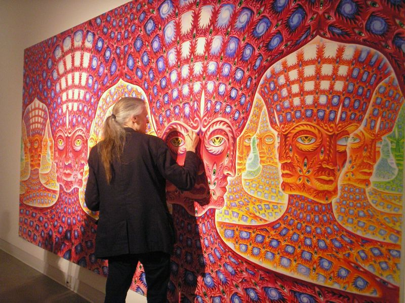 Reflection for today...How Art Evolves Consciousness -Alex Grey