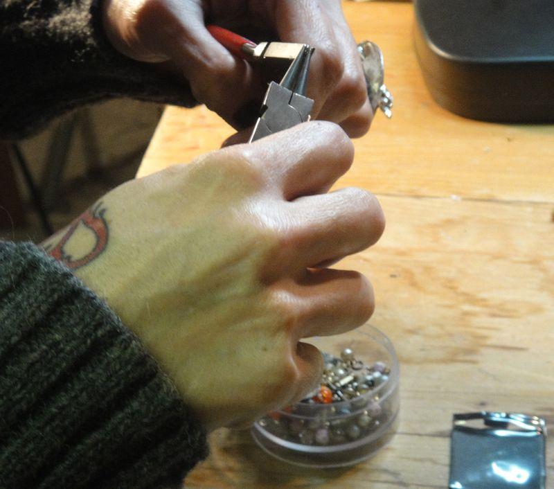 Csanchez working hands