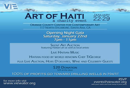 Art of haiti at occca
