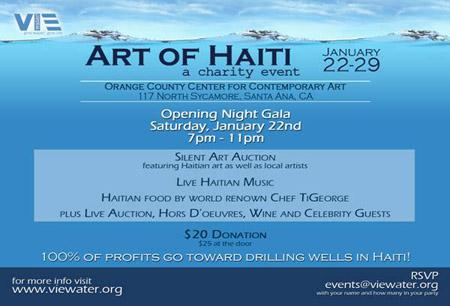 Art of haiti at occca