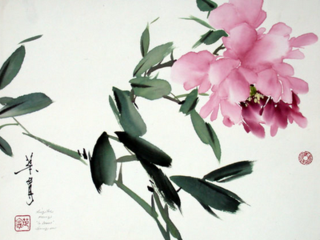 Ning Yeh painting