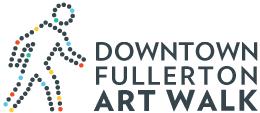 Fullerton art walk logo