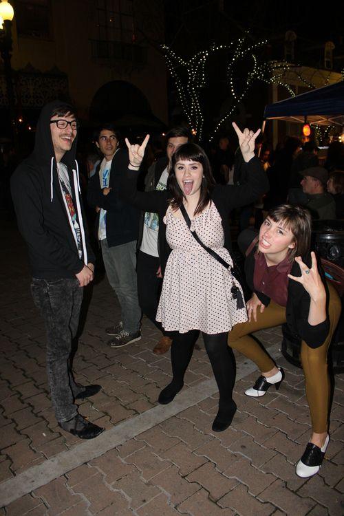 Anneliese Marta and friends